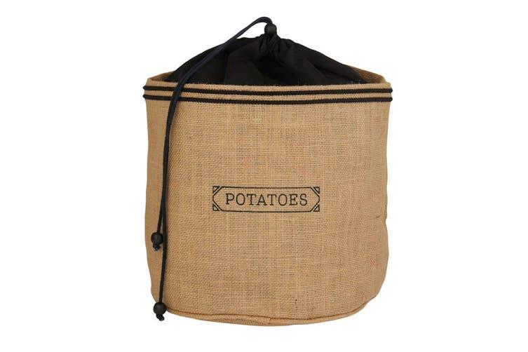 Hessian Preserving Bag Set - Potato And Onion