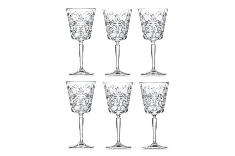 RCR Tattoo Wine Goblets Set 6 - 290ml
