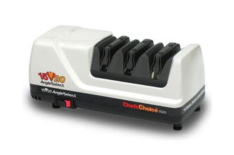 Chefs Choice White Diamond Hone Angleselect Electric Knife Sharpener Model 1520