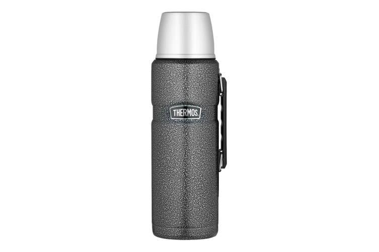 Thermos 2 Litre Drink Bottle - Grey Hammertone