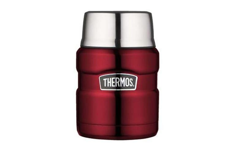 Thermos 470Ml Food Jar With Spoon - Red