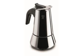 Pezzetti Stainless Steel Espresso Percolator Coffee Maker - 4 Cup