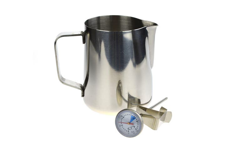 600ml Milk Jug And Thermometer Set