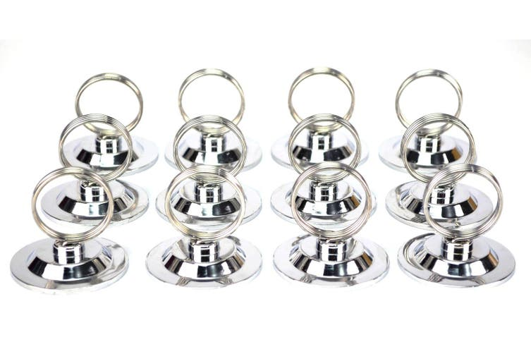Ring Place Card Menu Holder - Pack Of 12