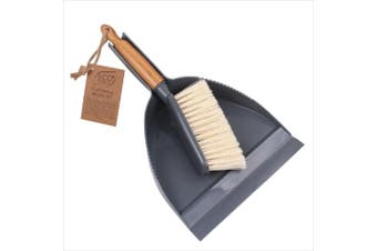 White Magic Eco Basics Dustpan and Brush Set