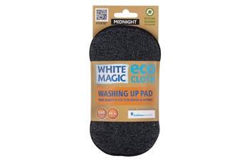 White Magic Microfibre Washing Up Pad Midnight