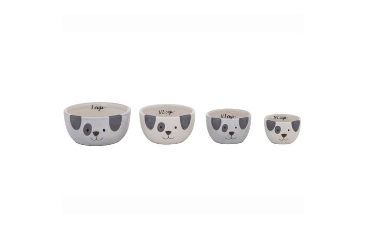 Emporium Spotty Dog Measuring Cups Set Of 4