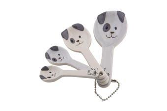 Emporium Spotty Dog Measuring Spoons Set Of 4