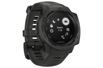 Garmin Instinct HRM GPS Sport Watch Graphite