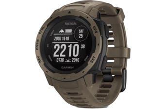 Garmin Instinct Tactical GPS Watch Coyote Tan