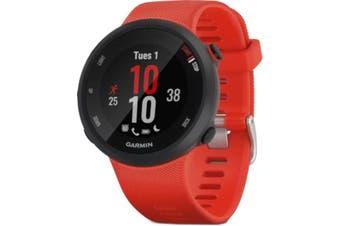 Garmin Forerunner 45 GPS Sports Watch Large Lava Red