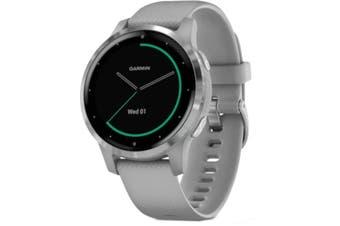 Garmin Vivoactive 4S GPS Smart Watch Powder Grey/Silver