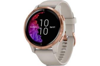 Garmin Venu GPS Smart Watch Light Sand/Rose Gold