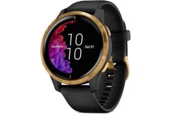 Garmin Venu GPS Smart Watch Black/Gold