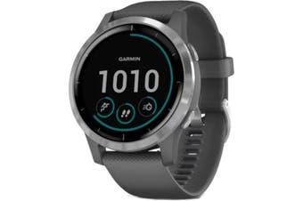 Garmin Vivoactive 4 GPS Smart Watch Shadow Grey/Silver
