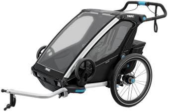 Thule Chariot Sport 2 Child Trailer Black