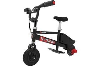 Razor E-Punk Electric Micro Bike Black/Red