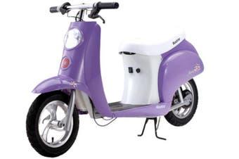 Razor Pocket Mod Betty Ride-On Vinatge Electric Scooter Purple