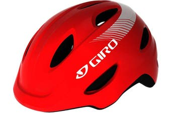 Giro Scamp Youth Bike Helmet Bright Red