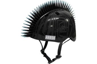 Krash Black Gator Bike Helmet Youth Medium
