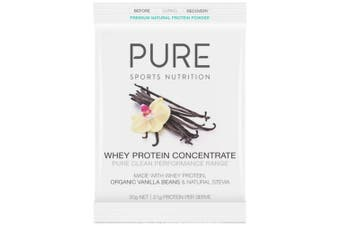 PURE Whey Protein Concentrate Vanilla Bean 30g Sachet