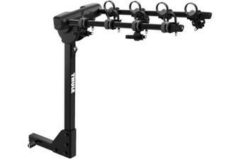 Thule 9057 Range RV Hanging Hitch Rack 4 Bike Carrier Black