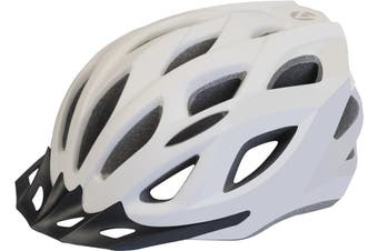 Azur L61 Satin White Bike Helmet