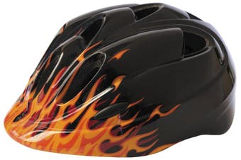 Azur T26 Toddler Helmet Flames