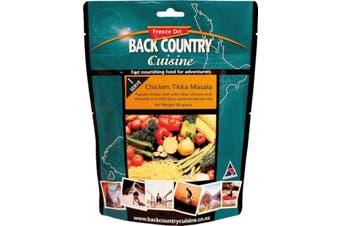 Back Country Cuisine Chicken Tikka Masala 1-Serve 90g Freeze-Dried Meal GF