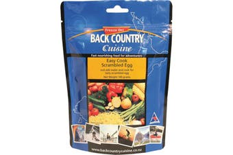 Back Country Cuisine Easy Cook Scrambled Egg 5-Serve 160g Freeze-Dried Meal