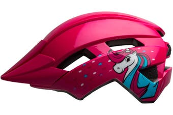 Bell Sidetrack II Toddler Bike Helmet Pink/Unicorn Unisize