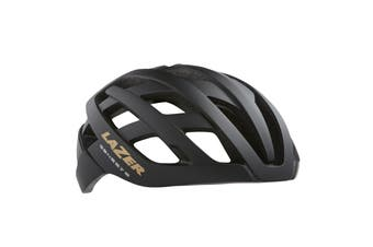 Lazer Genesis Road Bike Helmet Matte Black/Gold