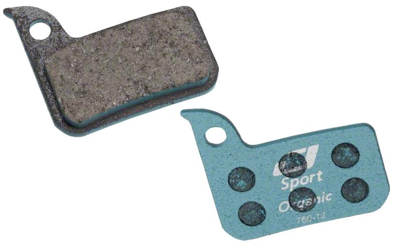 Jagwire Sport Organic Disc Brake Pads for SRAM Red 22 B1 Rival CX1 Force 22