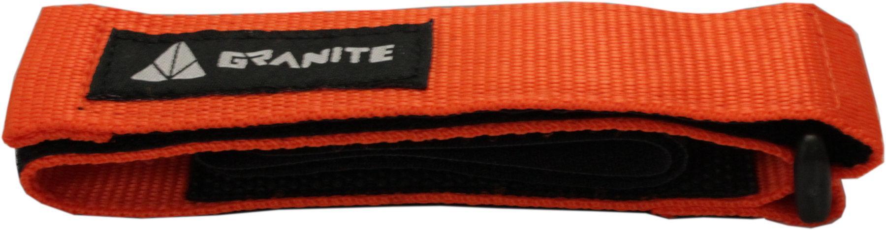 Orange Granite Design Rockband Carrier Strap