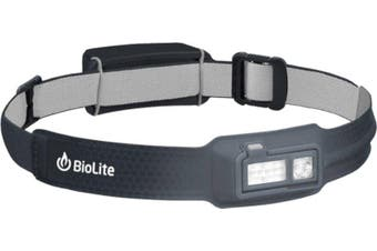 BioLite HeadLamp 330lm Rechargeable Headlamp Midnight Grey