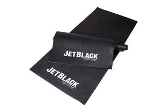 Jet Black Bike Trainer Floor Mat
