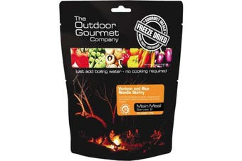 Outdoor Gourmet Freeze Dried Meals Venison Stirfry Serves 2