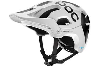 POC Tectal Race SPIN MTB Bike Helmet Hydrogen White/Uranium Black