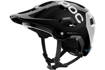 POC Tectal Race SPIN MTB Bike Helmet Uranium Black/Hydrogen White