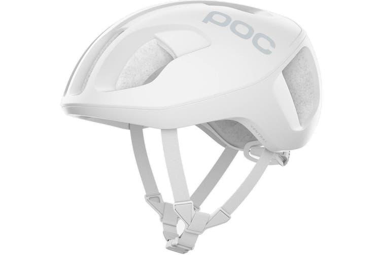 POC Ventral SPIN Road Bike Helmet Hydrogen White Matte