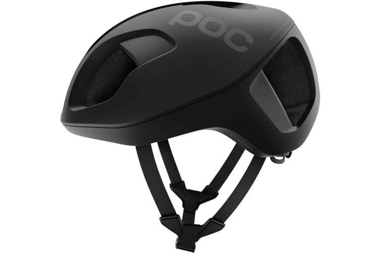 POC Ventral Spin Road Bike Helmet Uranium Matte Black