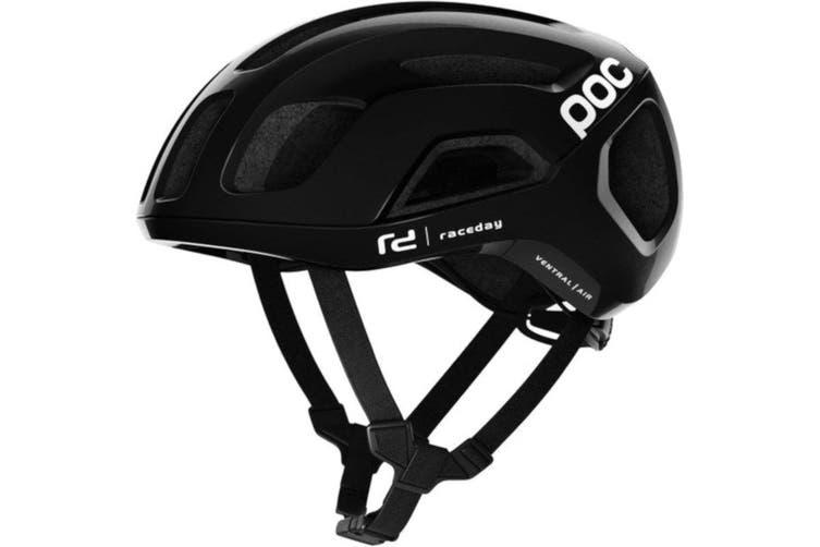 POC Ventral Air SPIN Road Bike Helmet Uranium Black Raceday
