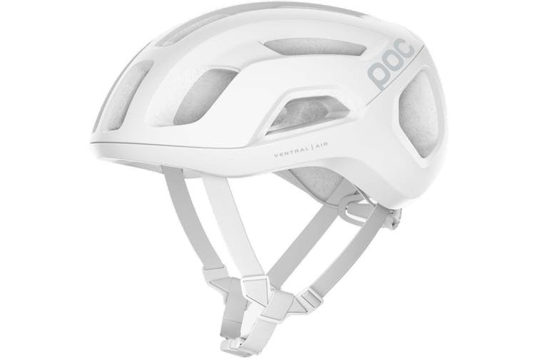 POC Ventral Air SPIN Road Bike Helmet Hydrogen White Matte