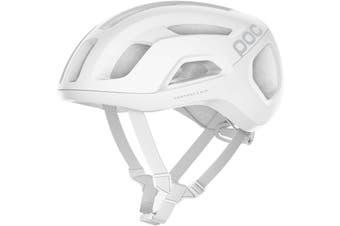POC Ventral Air SPIN Road Bike Helmet Hydrogen White Matte