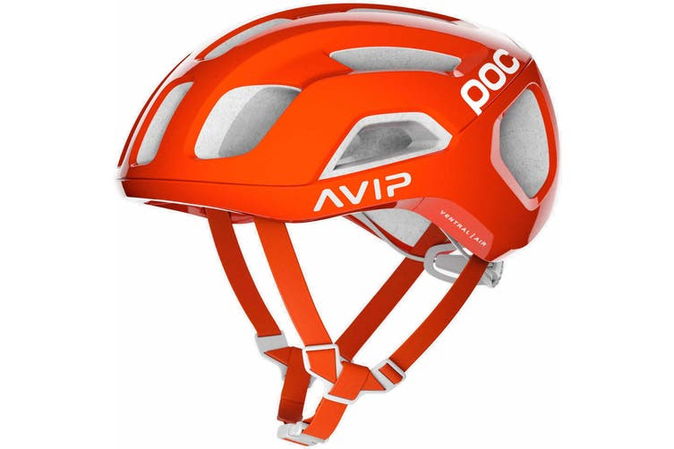 POC Ventral Air SPIN Road Bike Helmet Zink Orange AVIP