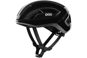 POC Omne Air SPIN Road Bike Helmet Uranium Black