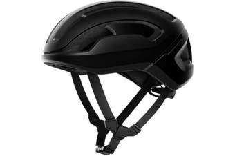 POC Omne Air SPIN Road Bike Helmet Uranium Black Matt