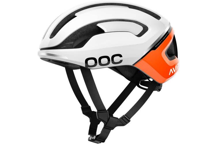 POC Omne Air SPIN Road Bike Helmet Zink Orange AVIP
