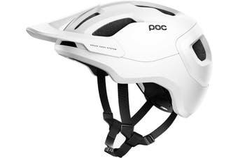 POC Axion SPIN MTB Bike Helmet White Matte