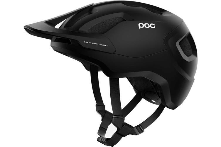 POC Axion SPIN MTB Bike Helmet Black Matte